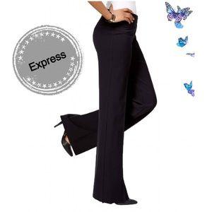 EXPRESS Flare Black Pants Sz 6